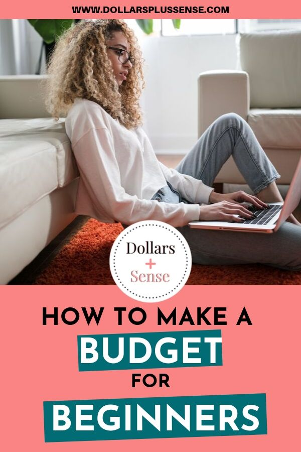 How To Make a Budget For Beginners Worksheet Pin
