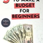 How To Make a Budget Worksheet For Beginners Pin