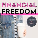Steps to financial freedom pin