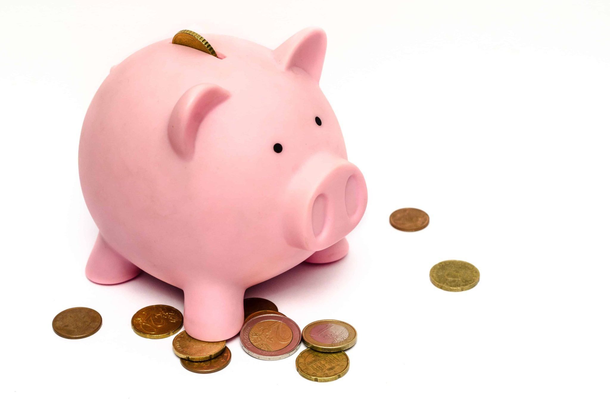piggy bank challenges of budgeting