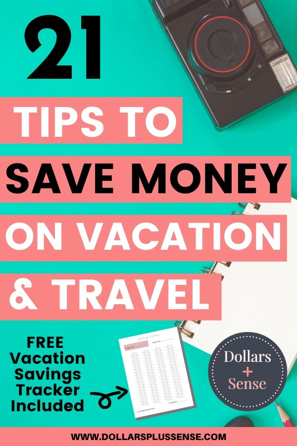 How to save money on travel pin