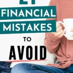 Financial mistakes pin