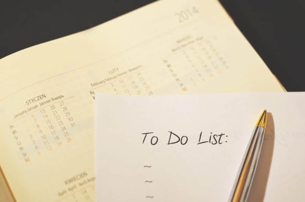 to do list habits of successful people
