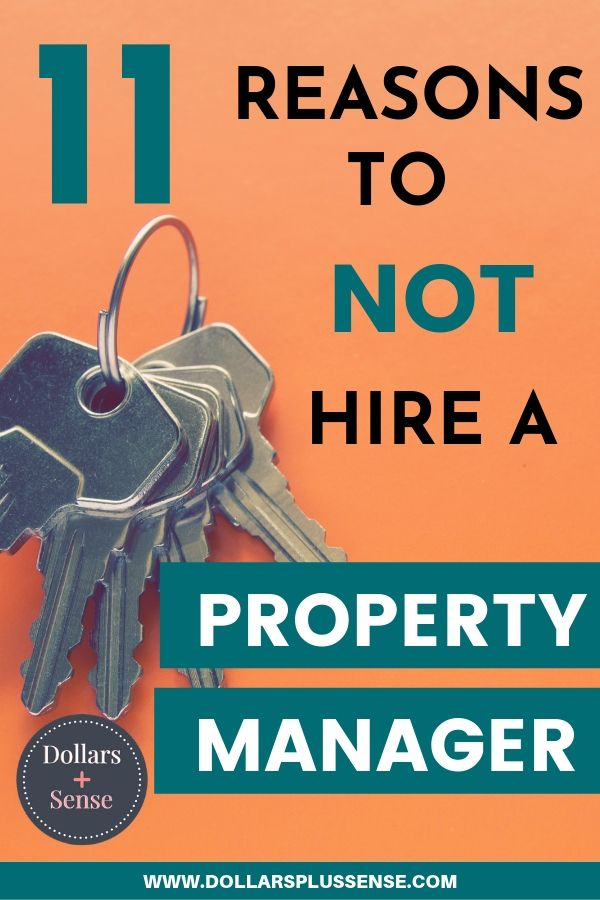 should I hire a property manager pin