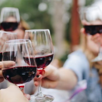Toast With Wine Social Life On A Budget