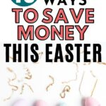 Save money this easter pin