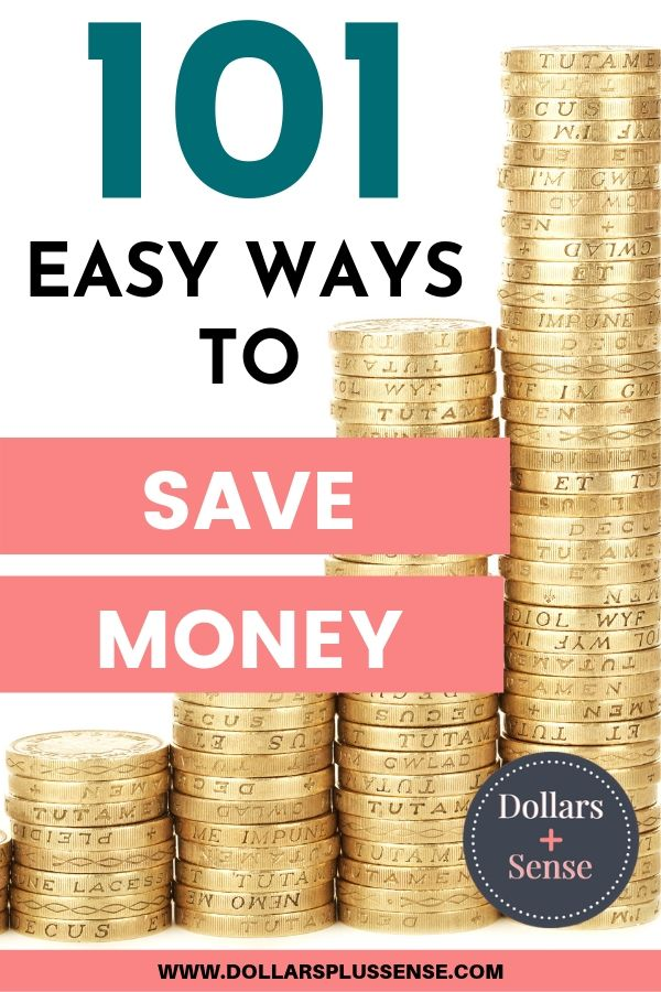 Ways to save money pin