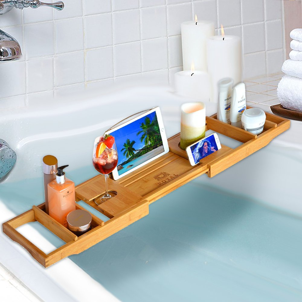 Bathtub Caddy Budget Friendly Mother's Day Gift Ideas