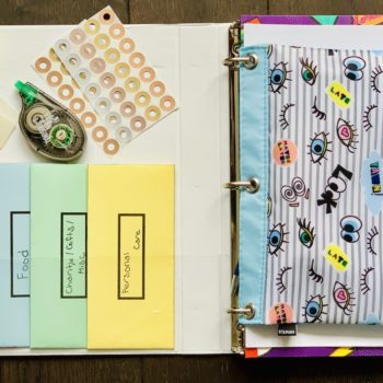 Budget Organization Personal Finance Binder
