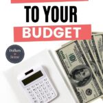 how to stick to a budget pin