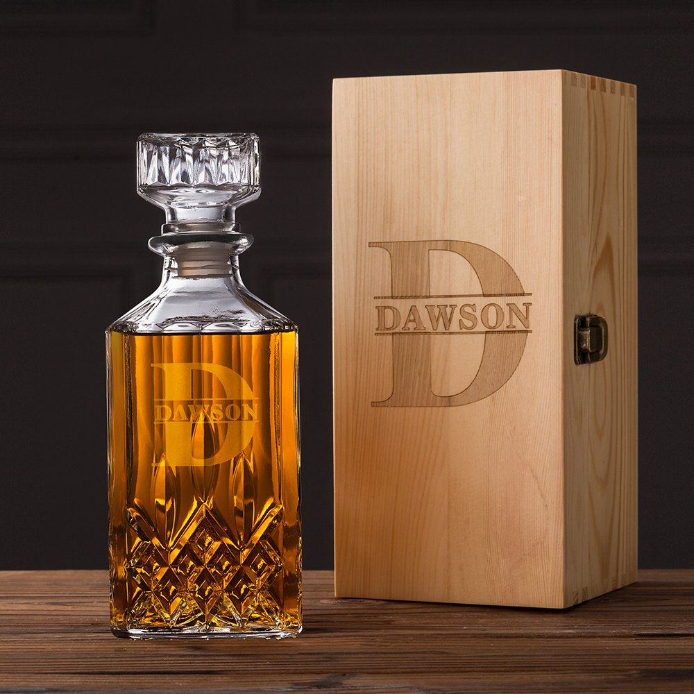 whiskey decanter as an affordable father's day gift ideas