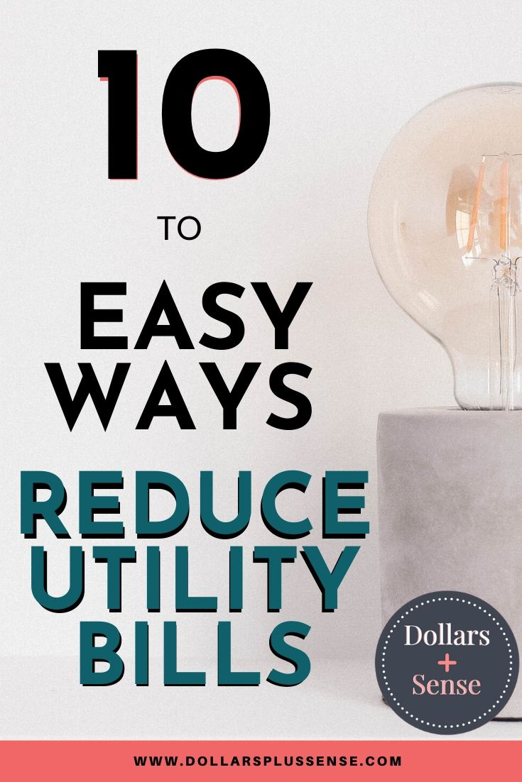 how to save money on electric bill pin