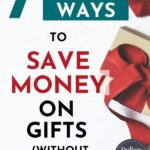 save money on gifts pin