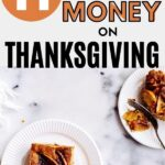 Thanksgiving dinner on a budget pin