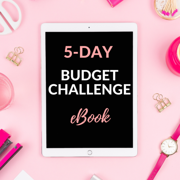 5-day budget challenge ebook