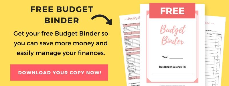 Budget binder sign up