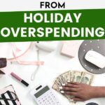 holiday spending pin