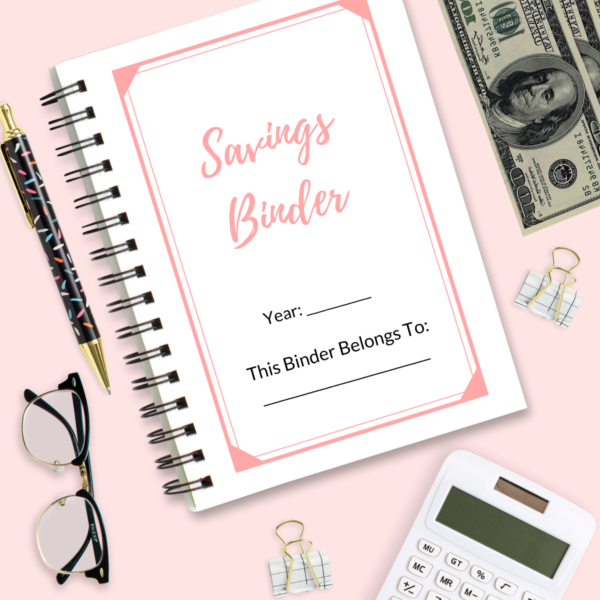 Savings Binder