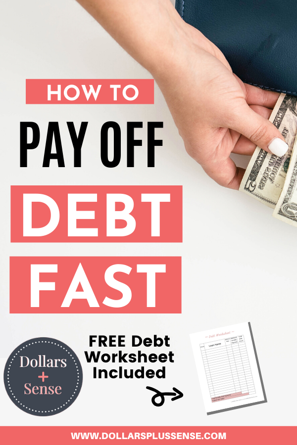 pay debt faster pin