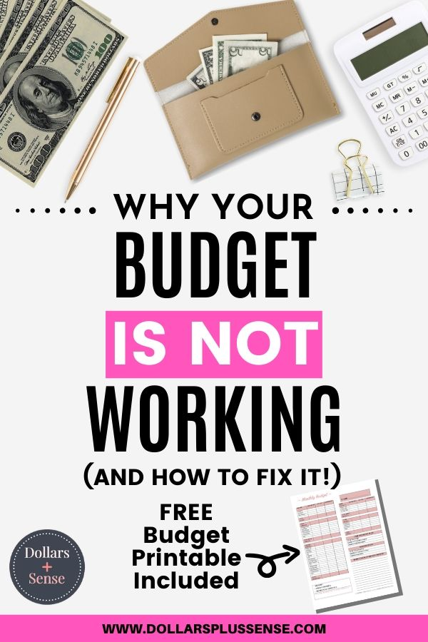 challenges of budgeting pin
