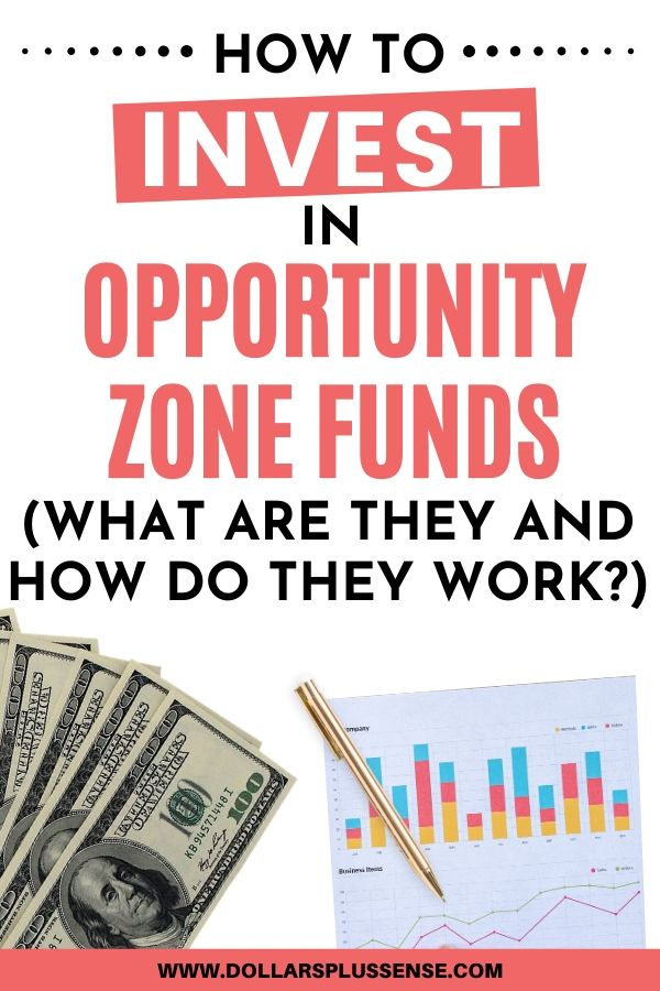 opportunity zone fund pin
