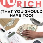 habits of the rich pin