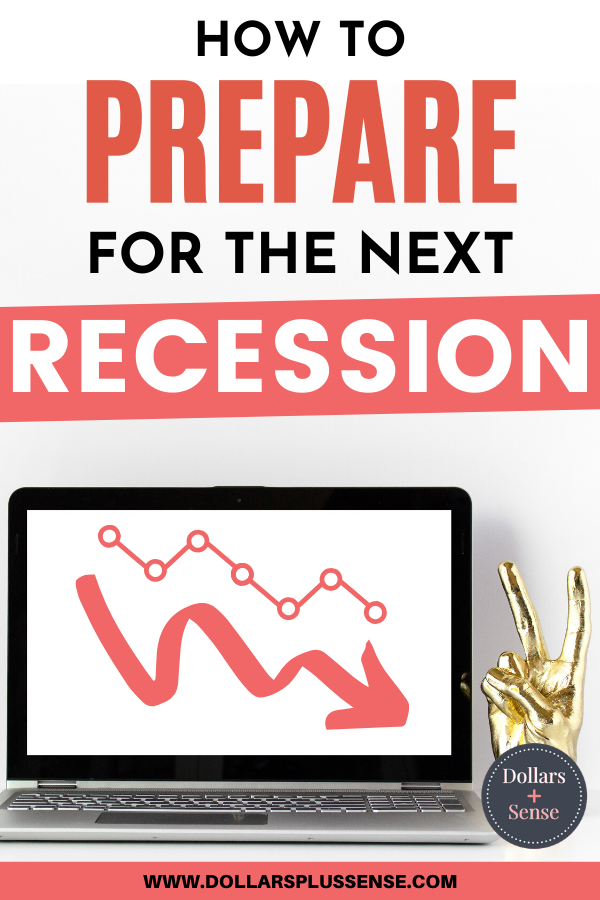 another recession is coming pin
