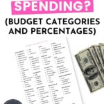 9 Must-Have Budget Categories and Percentages Pin